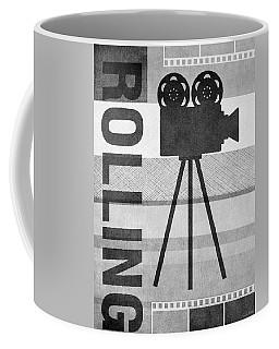 Cameras Rolling- Art By Linda Woods Coffee Mug