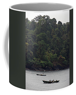 Cameroon Fisherman Africa Coffee Mug