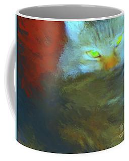 Camilla Cat 1 Coffee Mug by Gerhardt Isringhaus