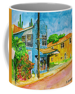 Coffee Mug featuring the painting Camilles Place by Eric Samuelson