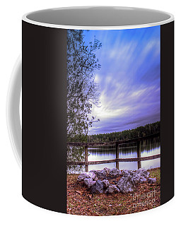 Coffee Mug featuring the photograph Camp Ground by Maddalena McDonald