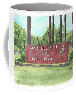Camp Lejeune Welcome Coffee Mug