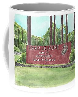 Camp Lejeune Welcome Coffee Mug