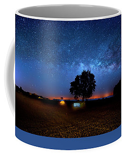 Coffee Mug featuring the photograph Camp Milky Way by Mark Andrew Thomas