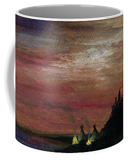 Camp Of The Two Fires Coffee Mug by R Kyllo