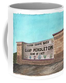Camp Pendleton Welcome Coffee Mug