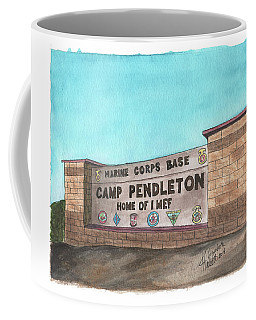 Camp Pendleton Welcome Coffee Mug