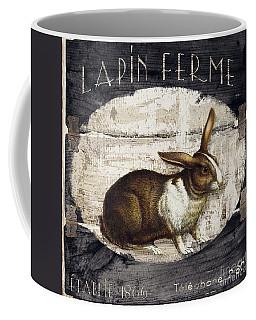 Campagne Iv Rabbit Farm Coffee Mug