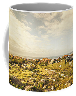 Camping, Driving, Trekking Coffee Mug