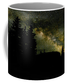 Camping Under The Milky Way 2 Coffee Mug