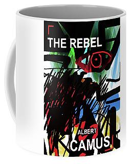Camus The Rebel  Poster Coffee Mug