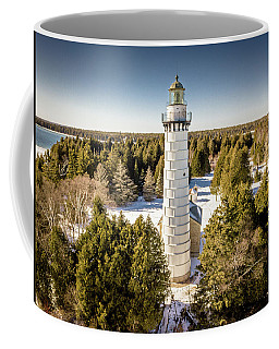 Cana Island Lighthouse Coffee Mug