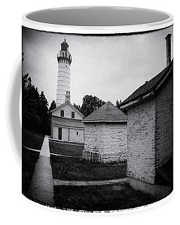 Cana Island Retro Coffee Mug by Janice Adomeit