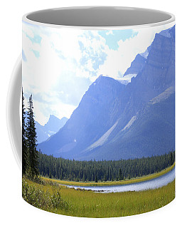 Canadian Mountains Coffee Mug by Catherine Alfidi