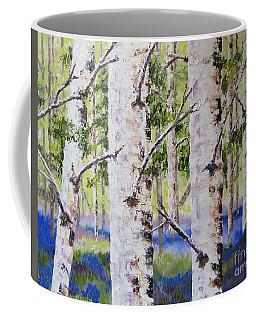 Canadian Autumn Birch Coffee Mug