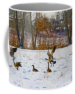 Canadian Geese At Sunrise IIi Coffee Mug