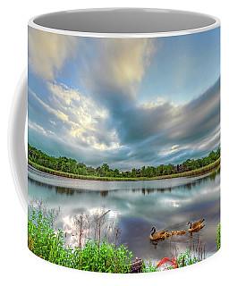 Canadian Geese On A Marylamd Pond Coffee Mug