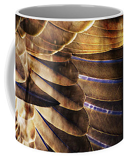 Canadian Goose Wing  Coffee Mug by Ayasha Loya