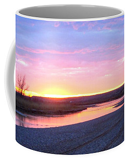 Canadian River Sunset Coffee Mug