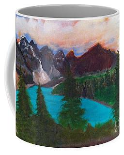 Canadian Rocky Mountain Lake Coffee Mug
