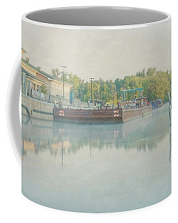 Coffee Mug featuring the photograph Canal In Pastels by Everet Regal