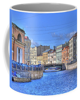 Canal In St. Petersburgh Russia Coffee Mug