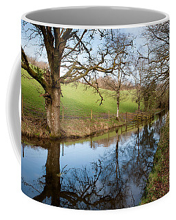 Canal Reflections Coffee Mug by Helen Northcott