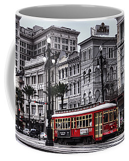 Canal Street Trolley Coffee Mug by Tammy Wetzel