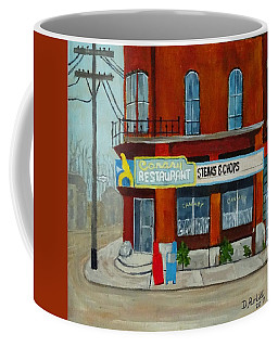 Canary Restaurant Coffee Mug