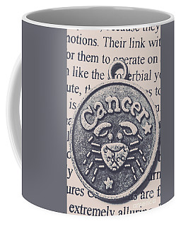 Cancer Zodiac Artwork Coffee Mug