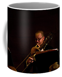 Coffee Mug featuring the photograph Cancon Primi Toni - Trombone by Miroslava Jurcik