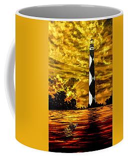 Candle On The Water Coffee Mug