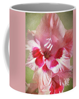 Candy Cane Gladiola Coffee Mug