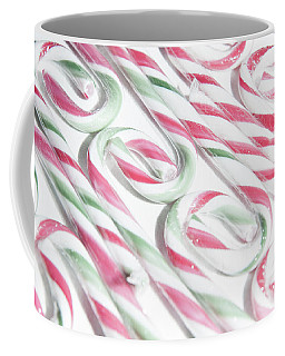 Candy Cane Swirls Coffee Mug