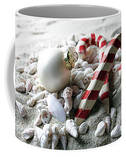 Candy Canes And Sea Shells Coffee Mug