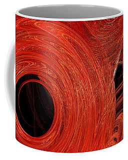 Candy Chaos 1 Abstract Coffee Mug by Andee Design