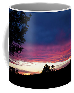 Coffee Mug featuring the photograph Candy-coated Clouds by Jason Coward