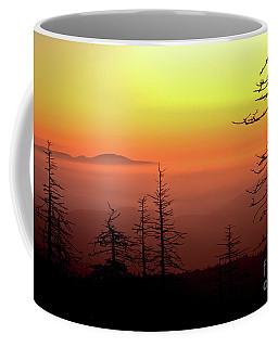 Coffee Mug featuring the photograph Candy Corn Sunrise by Douglas Stucky