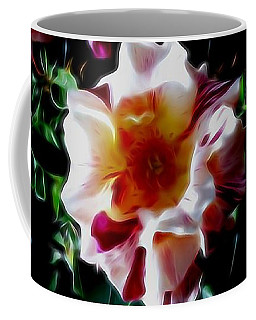 'candy Land' Rose In Abstract Coffee Mug