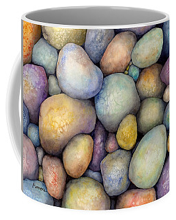 Coffee Mug featuring the painting Rock Candy by Hailey E Herrera