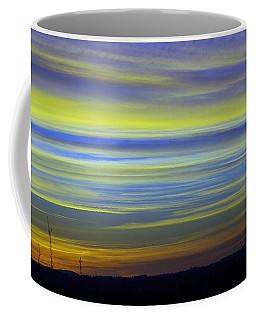 Coffee Mug featuring the photograph Candy Sky 1 by Victor K