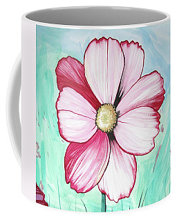 Candy Stripe Cosmos Coffee Mug