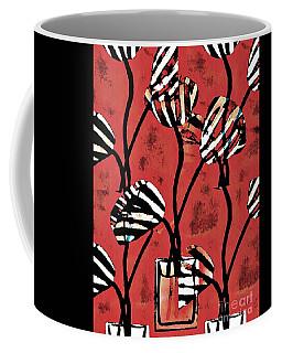Candy Stripe Tulips 2 Coffee Mug
