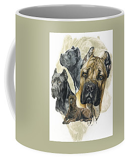 Cane Corso W/ghost Coffee Mug