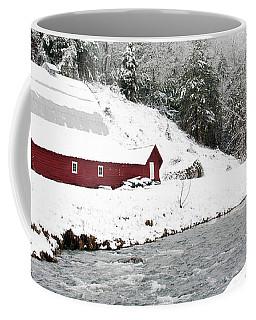 Caney Fork Snow Barn 2010 Coffee Mug