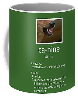 Canine Poster Coffee Mug