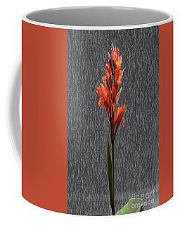Canna On Stone Coffee Mug