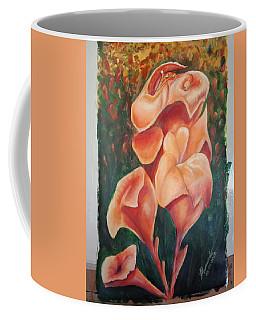 Canna Orange Lily #2 Coffee Mug