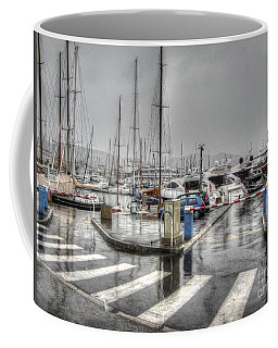Cannes Street Rain Coffee Mug