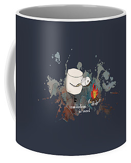 Cannibalism Is Sweet Illustrated Coffee Mug by Heather Applegate